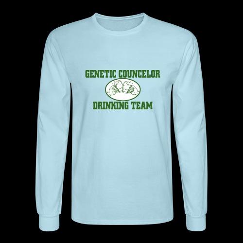 genetic counselor drinking team - Men's Long Sleeve T-Shirt