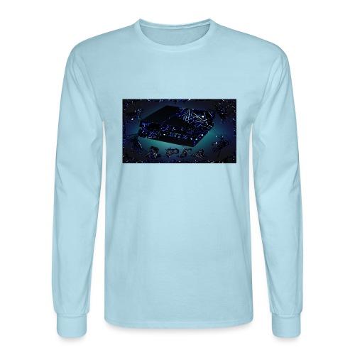 ps4 back grownd - Men's Long Sleeve T-Shirt
