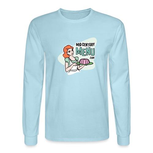 Mid-Century Menu Ruth Logo - Men's Long Sleeve T-Shirt