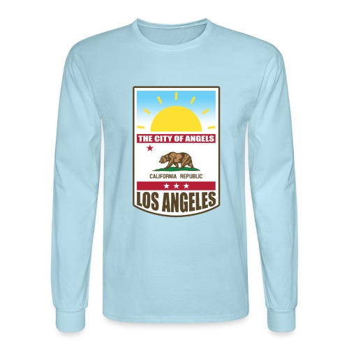 Los Angeles - California Republic - Men's Long Sleeve T-Shirt