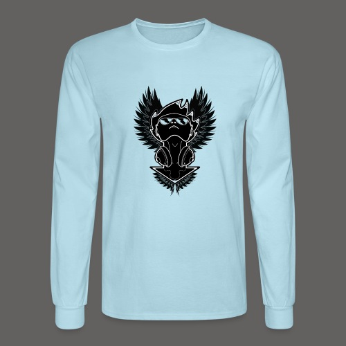 Winged Dj - Men's Long Sleeve T-Shirt