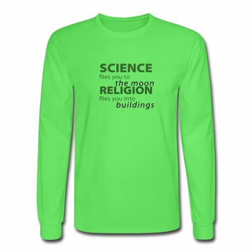 Science, Fly me to the Moon - Men's Long Sleeve T-Shirt