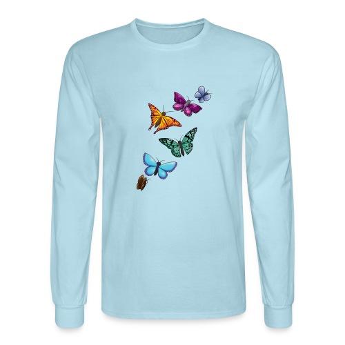 butterfly tattoo designs - Men's Long Sleeve T-Shirt
