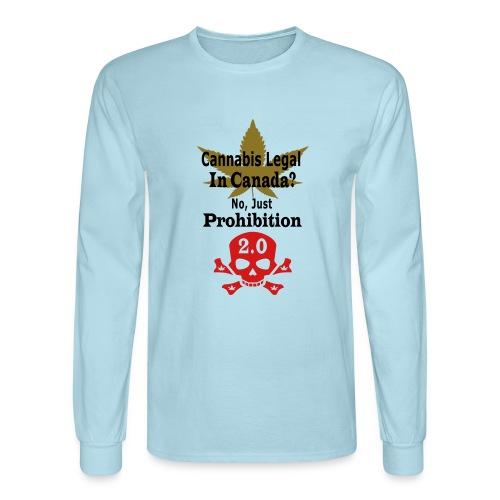 prohibition - Men's Long Sleeve T-Shirt
