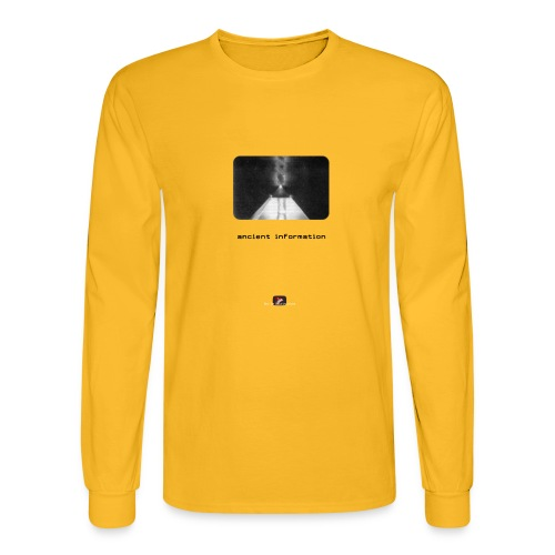 'Ancient Information' - Men's Long Sleeve T-Shirt
