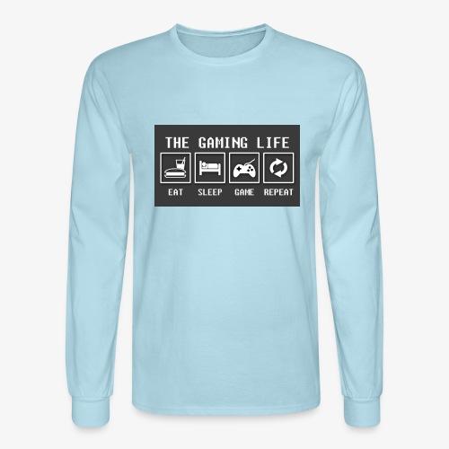 Gaming is life - Men's Long Sleeve T-Shirt