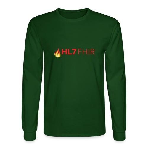 HL7 FHIR Logo - Men's Long Sleeve T-Shirt