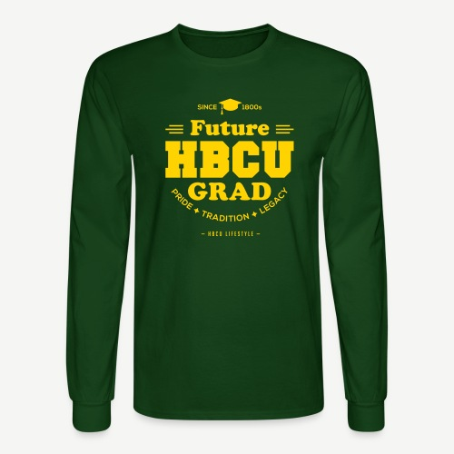 Future HBCU Grad Youth - Men's Long Sleeve T-Shirt
