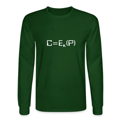 Ciphertext - Men's Long Sleeve T-Shirt