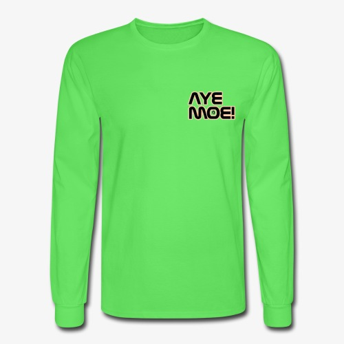 AYE MOE! - Men's Long Sleeve T-Shirt