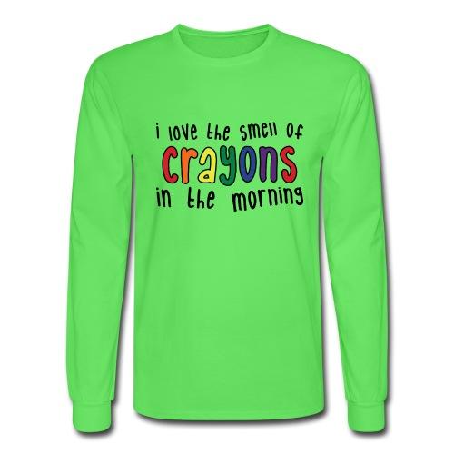 Crayons light - Men's Long Sleeve T-Shirt
