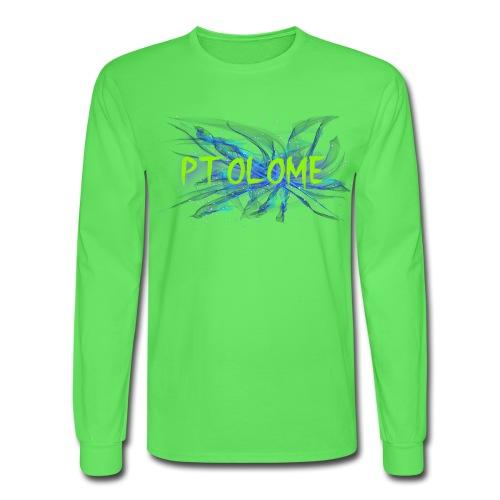 Ptolome Galaxy logo - Men's Long Sleeve T-Shirt