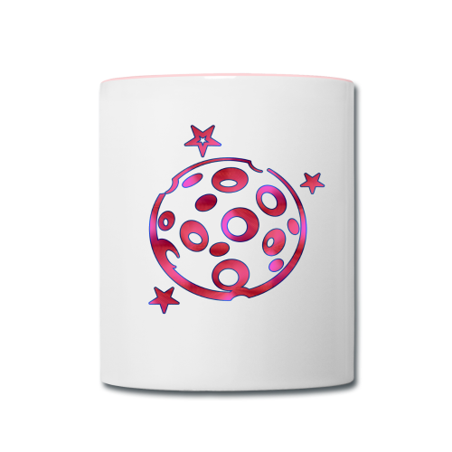 Cheesey Pink Moon - Contrast Coffee Mug