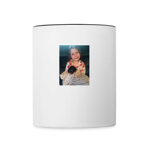 me and troy - Contrast Coffee Mug