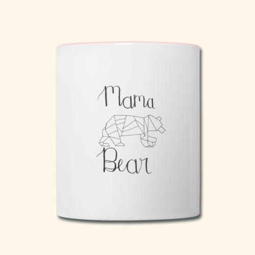 Mama Bear - Contrast Coffee Mug