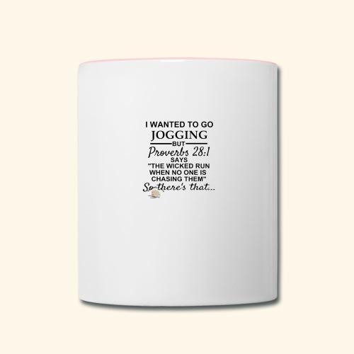 Jogging - Contrast Coffee Mug
