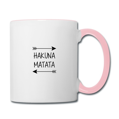 Hakuna Arrow - Contrast Coffee Mug