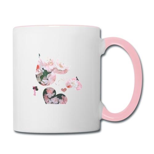 Roses with love, sweet - Contrast Coffee Mug