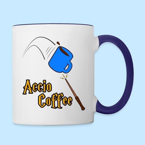 Accio Coffee! (Double Sided) - Contrast Coffee Mug