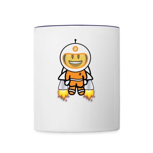 Bit for Buck: Buck's Happy Jetpack Coffee Mug - Contrast Coffee Mug