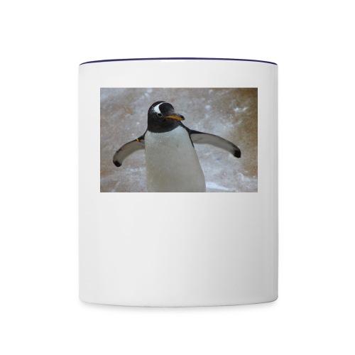 painguin - Contrast Coffee Mug