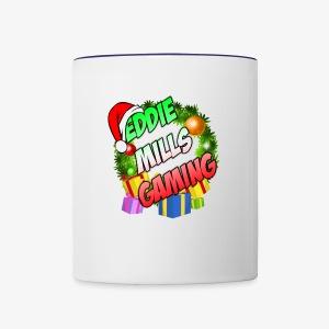 Eddie Mills Christmas - Contrast Coffee Mug