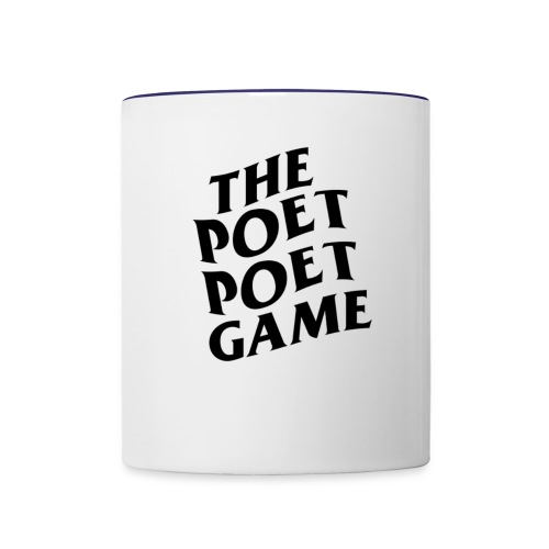 The Poet Game *ASSC* Edition Merch - Contrast Coffee Mug