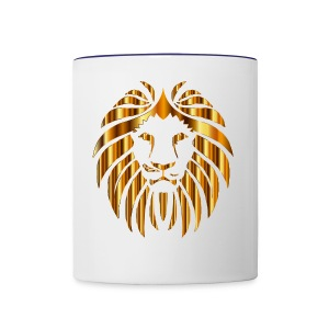 Golden Lion - Contrast Coffee Mug