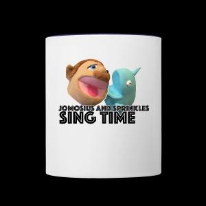 Jomosuis and Sprinkles Sing Time - Contrast Coffee Mug