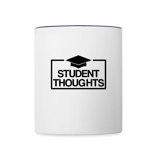 Student Thoughts Merchandise - Contrast Coffee Mug