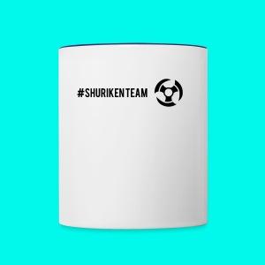 Shuriken Team - Contrast Coffee Mug