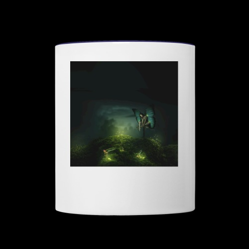 A Rest On Firefly Path - Contrast Coffee Mug