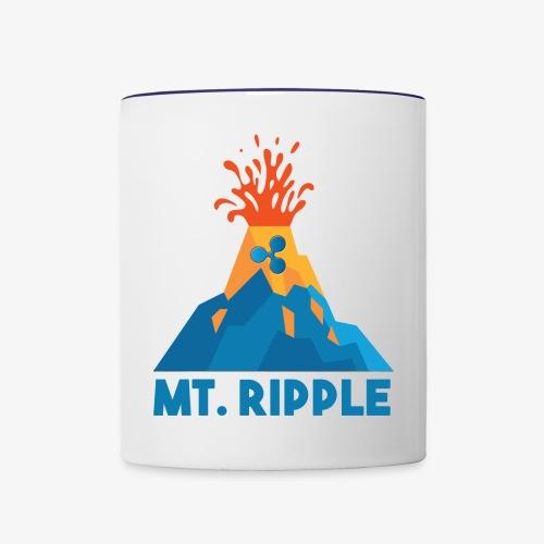 Ripple ready to erupt - Contrast Coffee Mug