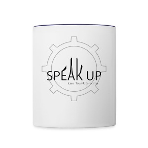 speak up logo 1 - Contrast Coffee Mug