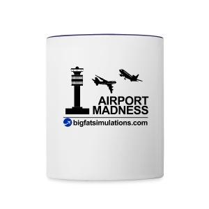 The Official Airport Madness Mug - Contrast Coffee Mug