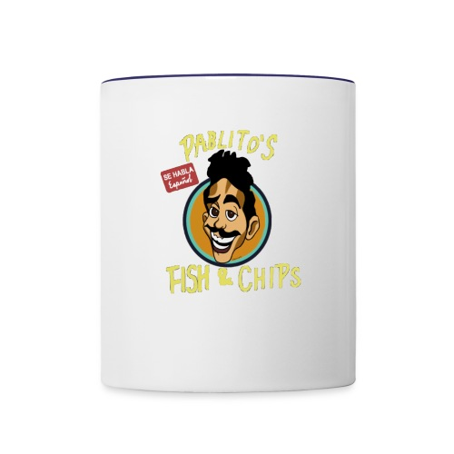 Pablitos fish and chips - Contrast Coffee Mug