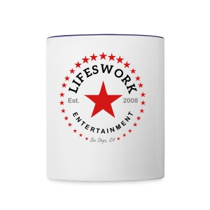 Lifeswork Entertainment - Contrast Coffee Mug