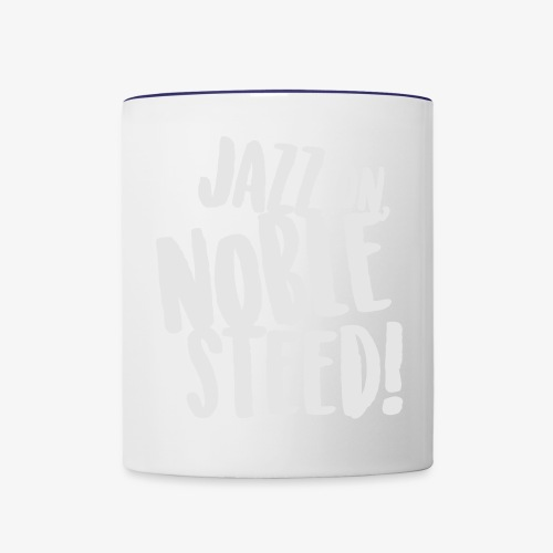 MSS Jazz on Noble Steed - Contrast Coffee Mug