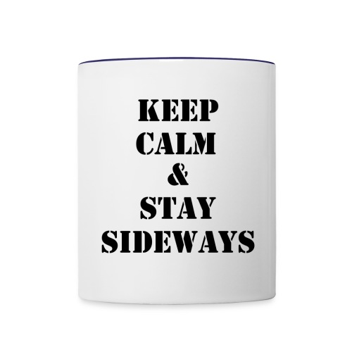 keepcalmstaysidways - Contrast Coffee Mug