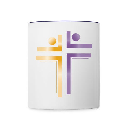 Deliverance International Logo - Contrast Coffee Mug
