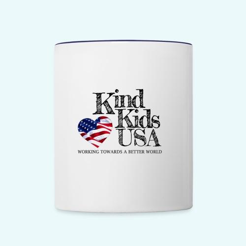 Kind Kids USA - Contrast Coffee Mug