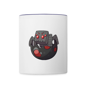 Cartoon Spider - Contrast Coffee Mug