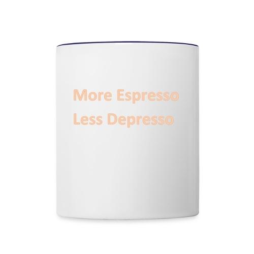Espresso Depresso - Contrast Coffee Mug