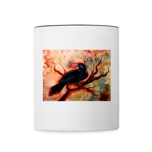 Red Winter - Contrast Coffee Mug