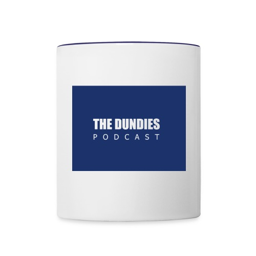 Dundies Podcast Logo - Contrast Coffee Mug