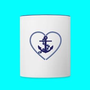 Forever Anchored - Contrast Coffee Mug