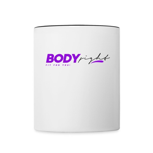 Body Right - Contrast Coffee Mug
