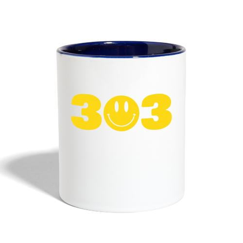 3 Smiley 3 - Contrast Coffee Mug