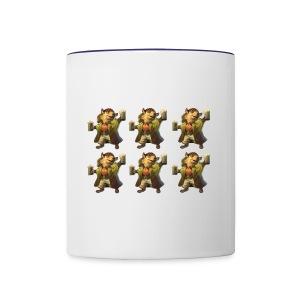 Beer hedgehog - Contrast Coffee Mug