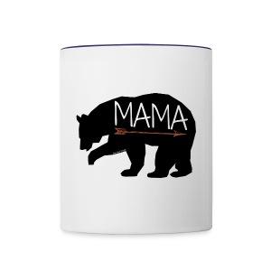 The Baer Family - Contrast Coffee Mug